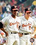 Paul Blair & Brooks Robinson Baltimore Orioles 1970 World Series Photo 8x10