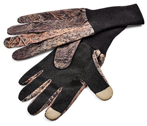 Mossy Oak Mesh Gloves, Mossy Oak Brush,Large/X-Large