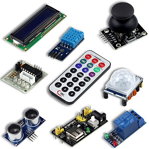 UCTRONICS Advanced Starter Kit for Arduino with Instruction Booklet, UNO R3, UNO R3 Proto Shield V3,Relay, Breadboard Power Supply, SG90 9g Servo, Remote Controller and IR Receiver by UCTRONICS (Image #3)