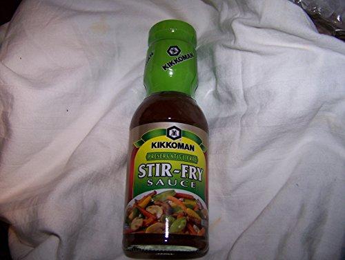 Kikkoman Preservative Free Stir Fry Sauce Marinades and Sauce, 11.4 Ounce - Mirin Stir Fry Sauce
