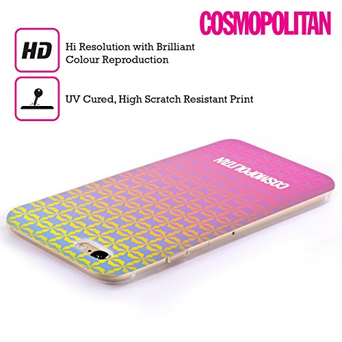 Official Cosmopolitan Ombre 5 Fun Summer Soft Gel Case for Apple iPhone 6 / 6s