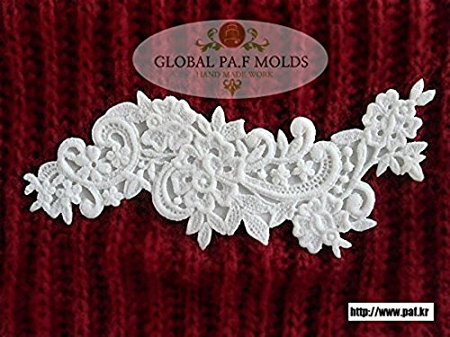 Handmade Silicone Fondant Mould/new Lace Mold 467gf