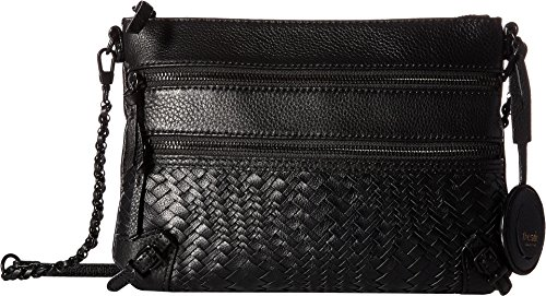 The Sak Women's Bayshore 3 Zip Clutch by The Sak Collective Black Devi One Size by The Sak
