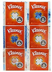 Kimberly-Clark Professional Kleenex Anti-Viral Facial Tissue Cube (Pack of 6)
