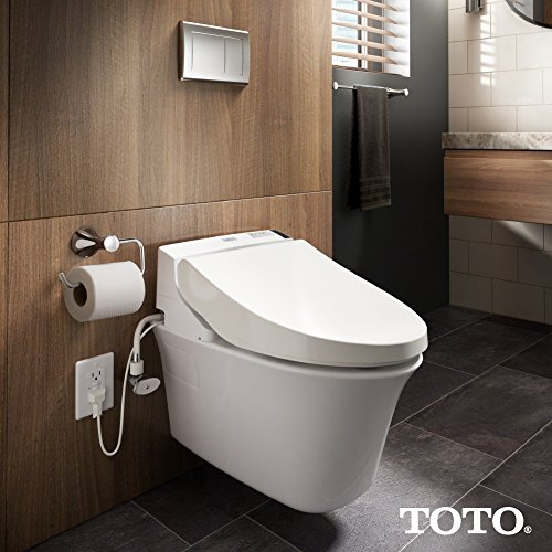 TOTO Electronic Bidet with Lid,