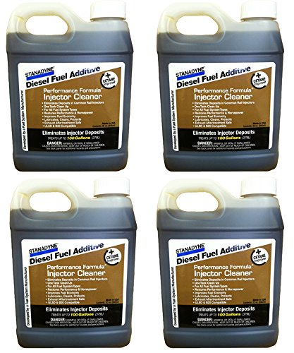 Stanadyne Performance Formula Diesel Injector Cleaner Qty of 4, 32oz jugs #43566
