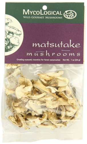 Mycological Dried Matsutake Mushrooms, 1 Ounce Package