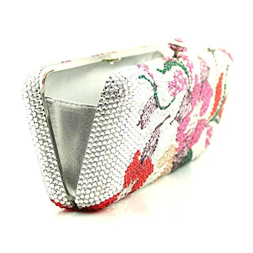 Multi Evening Clutch Fashion Bag Lady Pack Diamond Wedding Banquet Dinner URanz6qw
