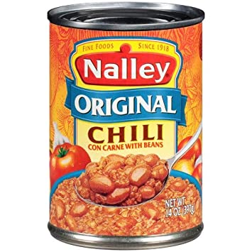 Nalley Chili Con Carne with Beans