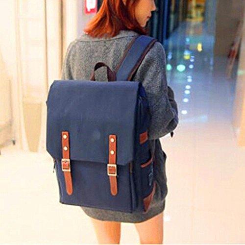 Männer und Frauen Studenten Tasche Computer Schultertasche Freizeit Reisetasche Mode-Trend-Rucksack EIN VxBfr