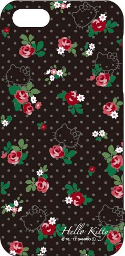- Gourmandise Sanrio Hello Kitty Hard iPhone 5 Case (Flower)