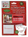 elves behavin badly 24 Daily Christmas Cards & Envelopes from Santa with Elf Mesage & Letterbox