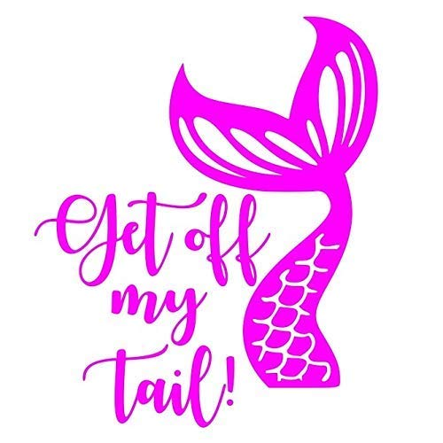 """Mermaid Tales Tails Select-A-Color 5/"""" X 7/"""" Card Fused Glass Decals"""