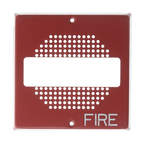 Square Speaker Strobe Grill for CH70 E70 ET70 Series, Red ()