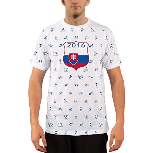Vapor Apparel Rio Team Slovakia All-Over-Print Short Sleeve Shirt XX-Large - Slovakia Svk