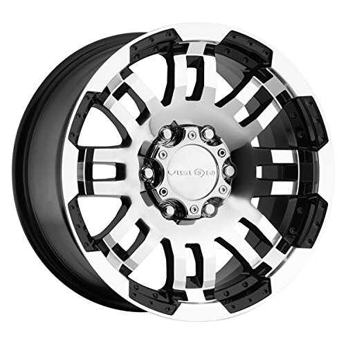 Vision Warrior 375 Gloss Black Machined Face Wheel (16x8/5x135mm)