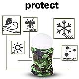 OGPIGGJA 5 Pack Protection Neck Gaiter Breathable