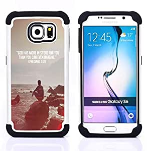 For Samsung Galaxy S6 G9200 - quote religion epiphany Christian Dual Layer caso de Shell HUELGA Impacto pata de cabra con im??genes gr??ficas Steam - Funny Shop -