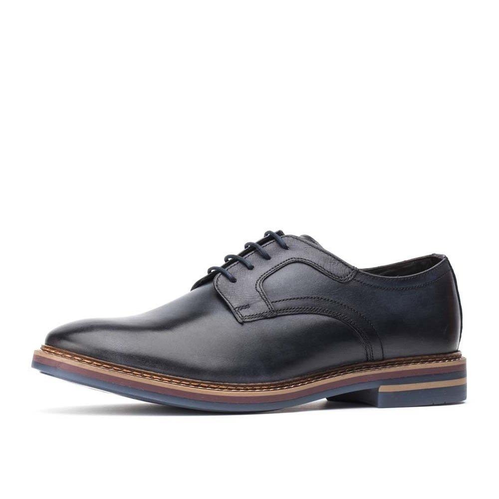 Base London Spencer Hombre Zapatos Marrón 8|Navy