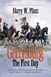 Front cover for the book Gettysburg - The First Day by Harry W. Pfanz
