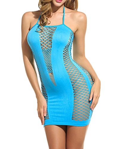 Naggoo Lingerie Dress Fishnet Chemise