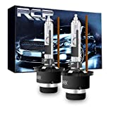 RCP - D4R4 - (A Pair) D4R 4300K Xenon HID Replacement Bulb Factory White Warm White Metal Stents Base 12V Car Headlight Lamps Head Lights 35W