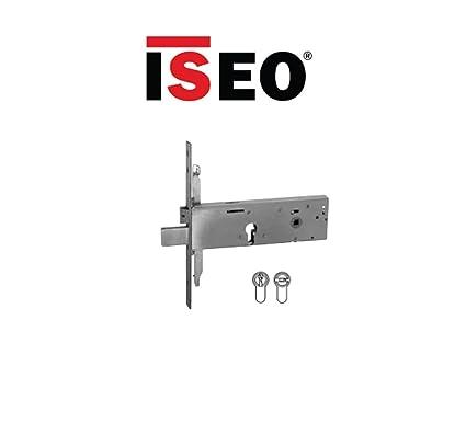 Cerradura de ponerse para banda cierre Iseo Triple entrada 90 Art. 963120102 mm Modular.
