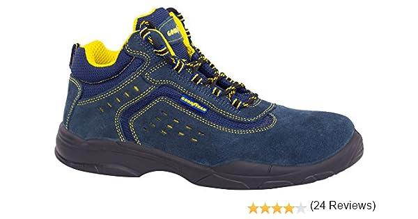 Goodyear G138843C Botas (piel serraje), Azul, 36, Set de 2 Piezas ...