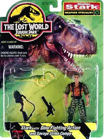 Jurassic Park The Lost World Dieter Stark