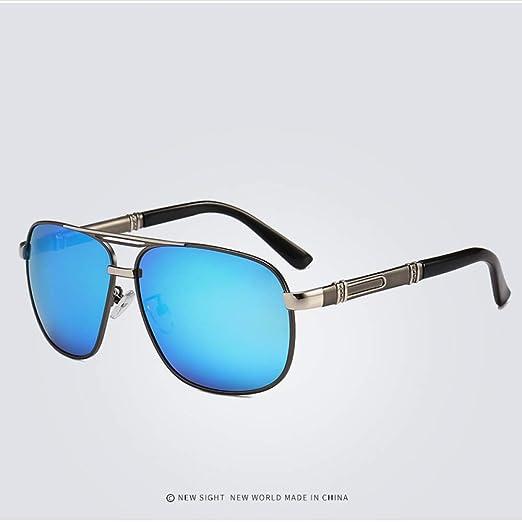 Yangjing-hl Gafas de Sol con Borde Cortado Gafas de Sol con ...