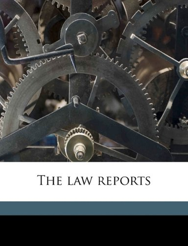 Download The law reports pdf