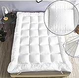 New Single Bed Size Microfibre Mattress Topper ,** New 3D Massage Bubbbles Fabric**, Box Stitched, 230 TC Cover & Elasticated Corner Straps