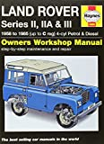 Land Rover Series II, IIA & III Service and Repair Manual: 1958-1985 (Haynes Service and Repair Manuals) by John S. Mead (2013-02-22)