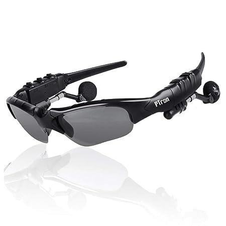 PTron Viki Stereo Wireless Bluetooth Sunglasses Headset with Mic    Black