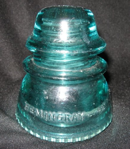 - Hemingray 42 Blue Green Electric Insulator