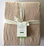 Pottery Barn Belgian Linen Flax Duvet Cover King/California King ~Soft Rose~