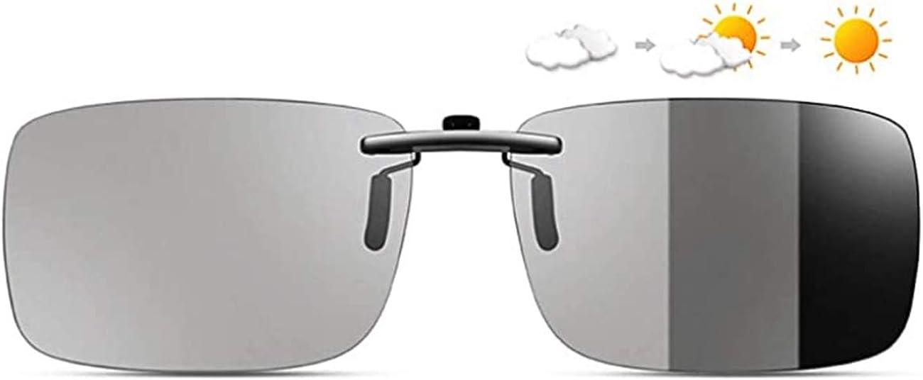 KANGYH Gafas de Sol Deportivas Polarizadas Fotocromaticas Para Hombre y Mujer Rectangulares Protección 100% UVA UVB