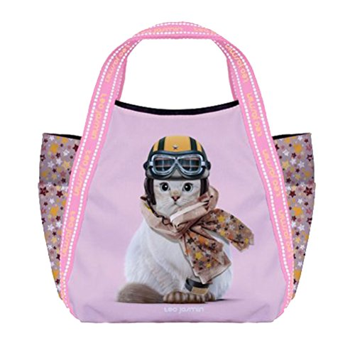 Petit Petit sac sac Téo Jasmin shopping shopping w8x84p
