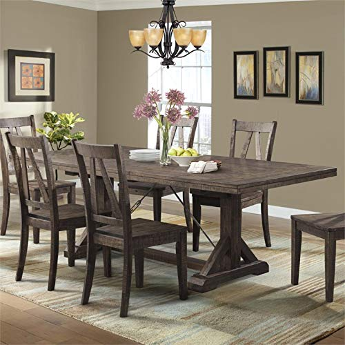 Fix Top Dining Table - Picket House Furnishings Flynn Dining Table in Walnut