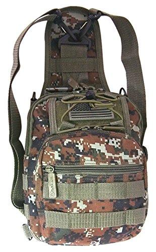 East West RTC514-GN ACU Tactical Sling Shoulder Utility Bag