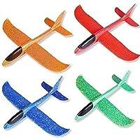 Zweefvliegtuigen Voor Kinderen, 4 Stuks Piepschuimvliegtuig, Schuimvliegtuig, Speelgoedvliegtuig, Handmatig…