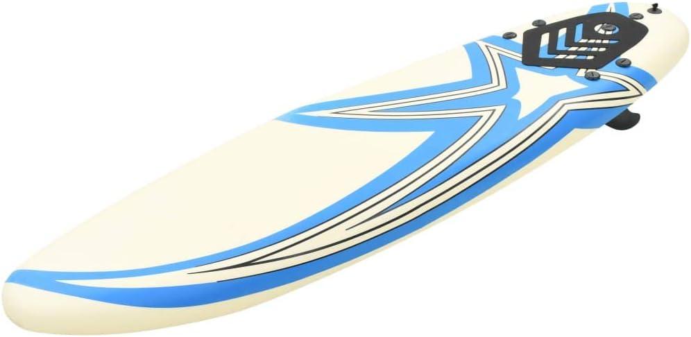 vidaXL Tabla de Surf 170 cm Deportes Acuáticos Exterior Navegación