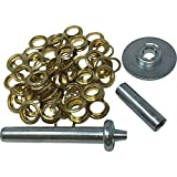 103 PCS GROMMET Repair Installation Kit Tarp Tent Canopy Awning Flag