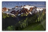 Olympic National Park, Washington - Mount Olympus (12x18 Aluminum Wall Sign, Wall Decor Ready to Hang) offers