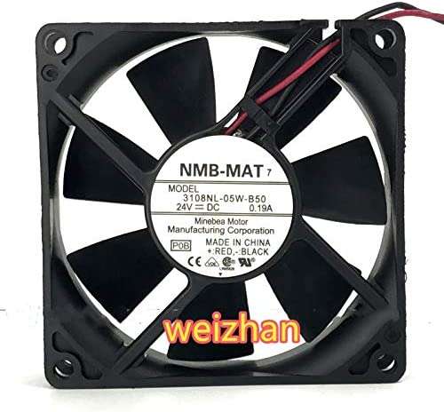 weizhan for NMB-MAT 3108NL-05W-B50 24V 0.19A 8CM 80 80 20mm Cooling Fan