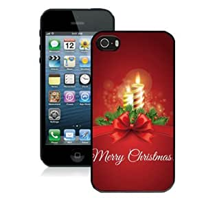 taoyix diy Cool Cartoon Christmas Iphone 5/5s Case Cover Color Red Designer Cheap Mobile Phone Protective Case Mate