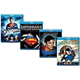 Ultimate Superman 4-Movie Blu-ray Collection: Superman: The Movie / Superman II: The Richard Donner Cut / Superman IV…