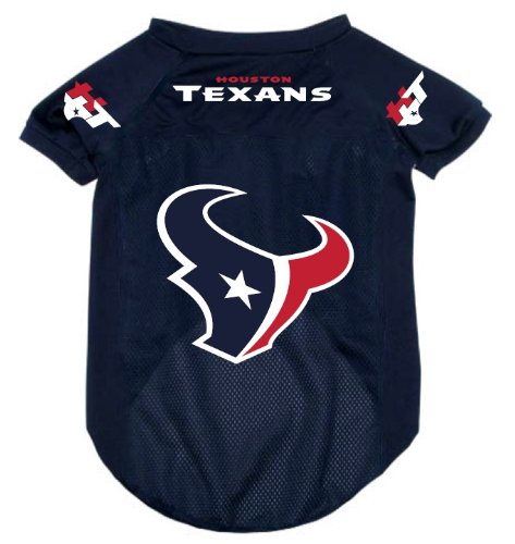 Houston Dog Amazon Apparel Alternate com Large Pet Texans Jersey Supplies Football