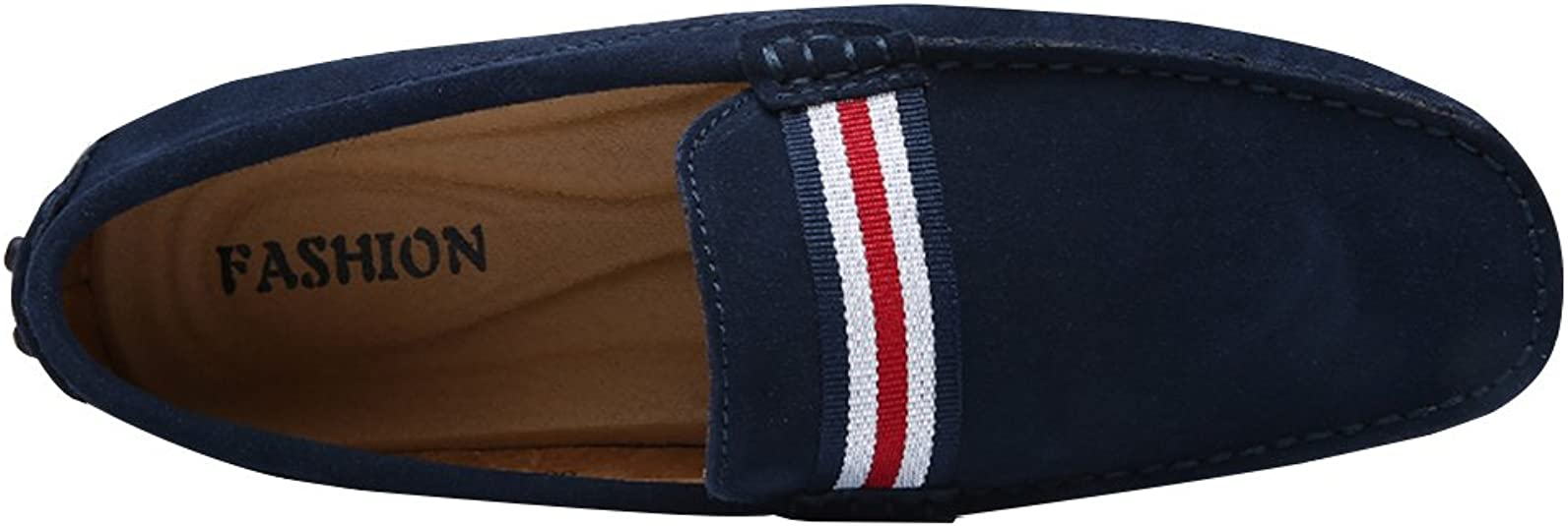 Jamron Hommes /Él/égant Frange Suede Mocassins Confort Loafers Plat Chaussures de Conduite