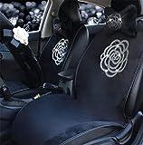 The car of the cush ion, fluffy Diamond Camellia hot cush ion